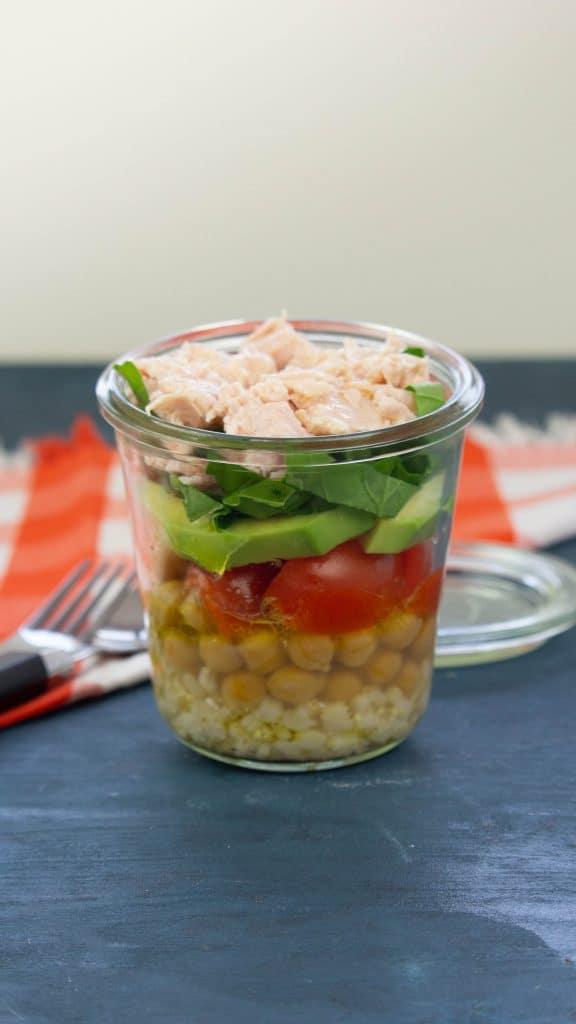 Kavanozda Hindi Fileto Salata