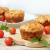 Domatesli Fesleğenli Muffin
